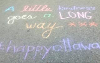 Eastern Ottawa Resource Centre- Chalk Art to Build Engagement